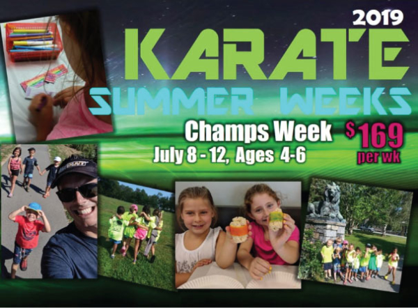 Champs Week Karate Program