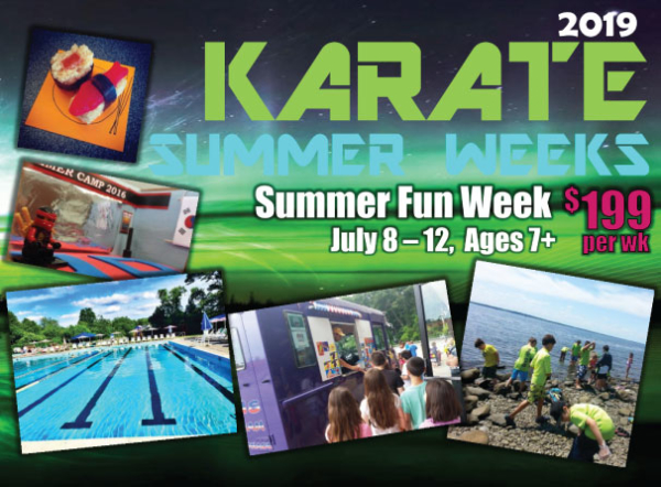 Summer Fun Week Karate Program